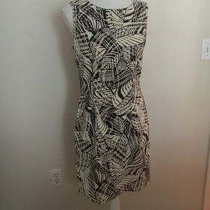 Womans sheath fitted dress